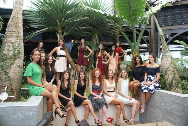 Candidates Miss Auvergne 2017