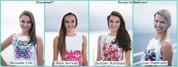 Candidates Miss Bretagne 2017