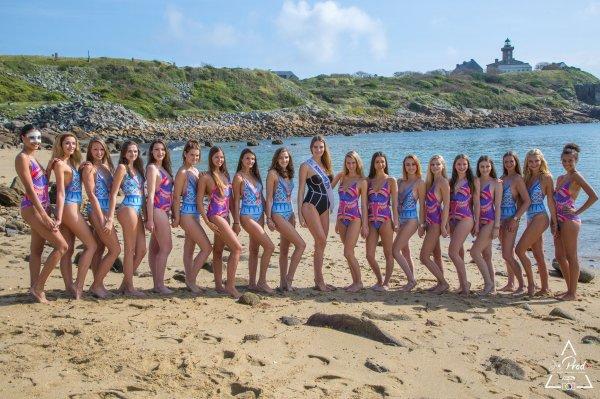 Candidates Miss Normandie 2017