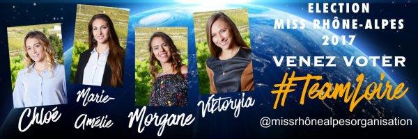 Candidates Miss Rhône-Alpes 2017