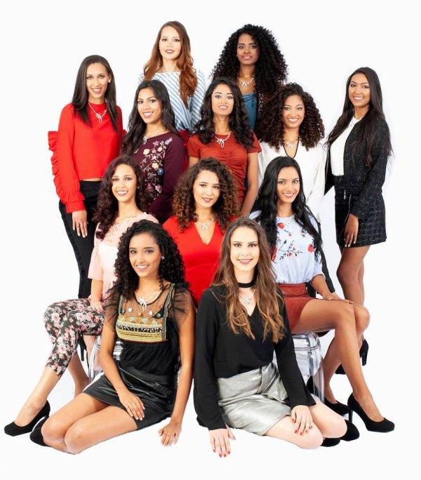 Candidates Miss Réunion 2018