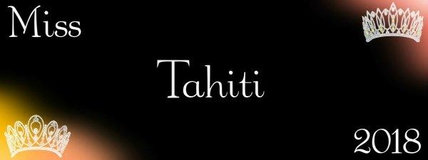 Miss Tahiti 2018