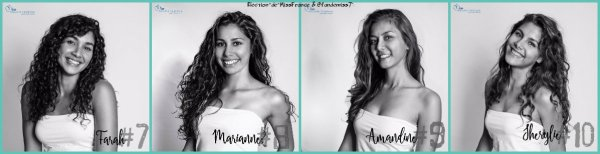 Candidates Miss Nouvelle-Calédonie 2018