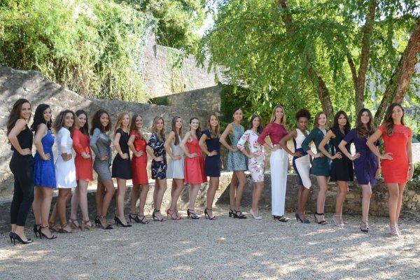 Candidates Miss Centre-Val de Loire 2018