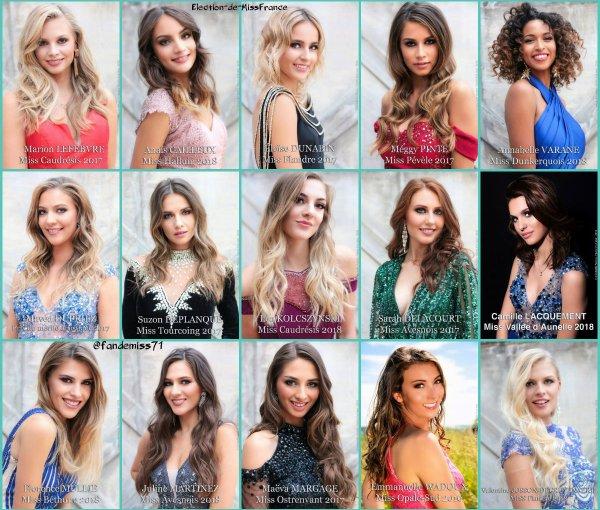 Candidates Miss Nord-Pas-de-Calais
