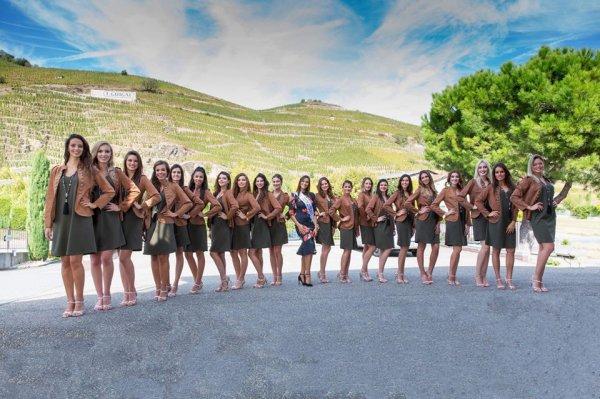 Candidates Miss Rhône-Alpes 2018