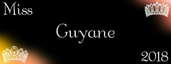 Miss Guyane 2018