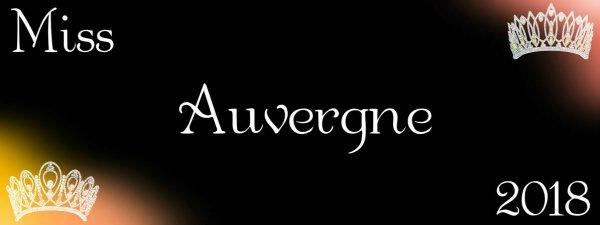 Miss Auvergne 2018