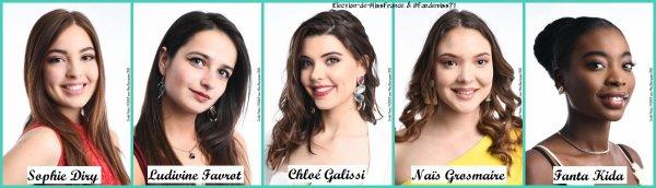 Candidates Miss Bourgogne 2019