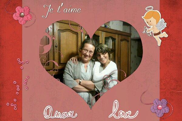 Ma mamam et moi