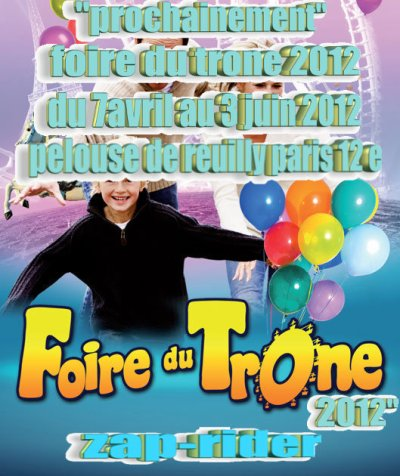 prochainement foire du trone ediction 2012 !!!
