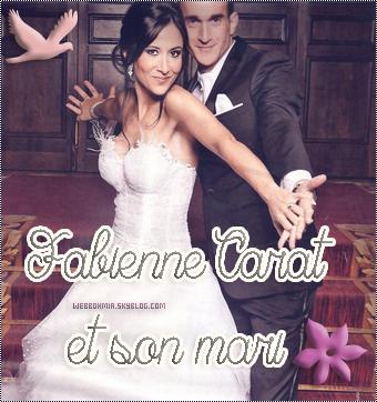 Fabienne Carat et son mari!