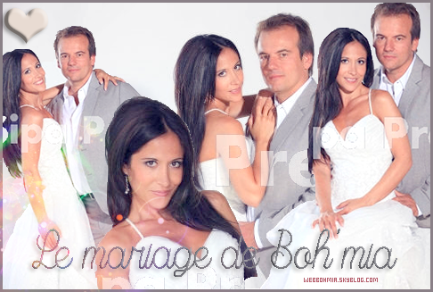Le mariage du couple bohmia!