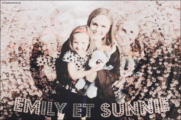 Emily et Sunnie - Photo originale
