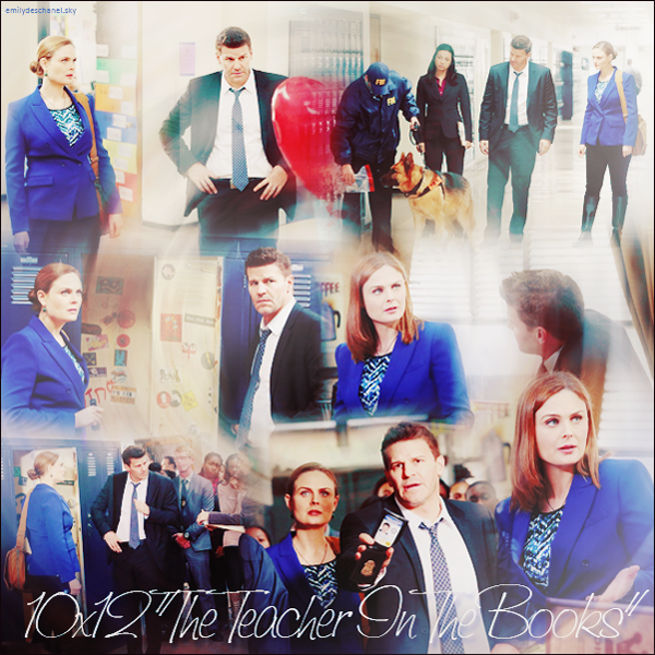 "Bones 10 x12 : ""The teacher in the books"""