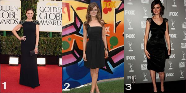 Vos trois robes préférées suite au sondage