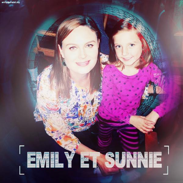 Emily et Sunnie