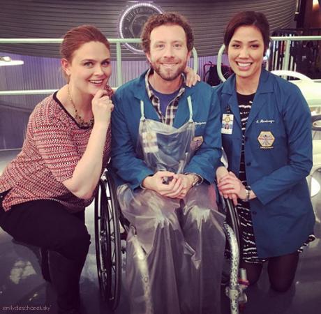Emily avec Michaela et TJ