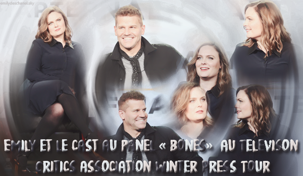 Emily et le cast était au Televison Critics Association Winter Press Tour
