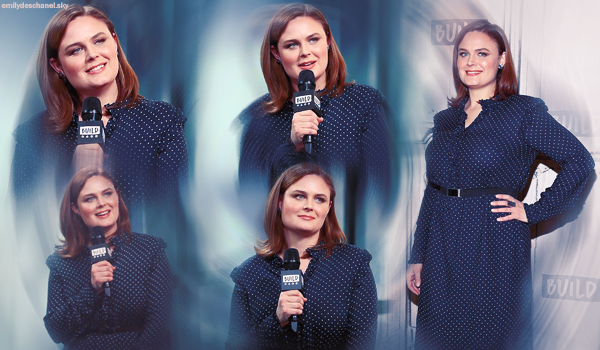 Le 19 janvier, Emily était participait à l'émission Build séries et dans les rues de New York