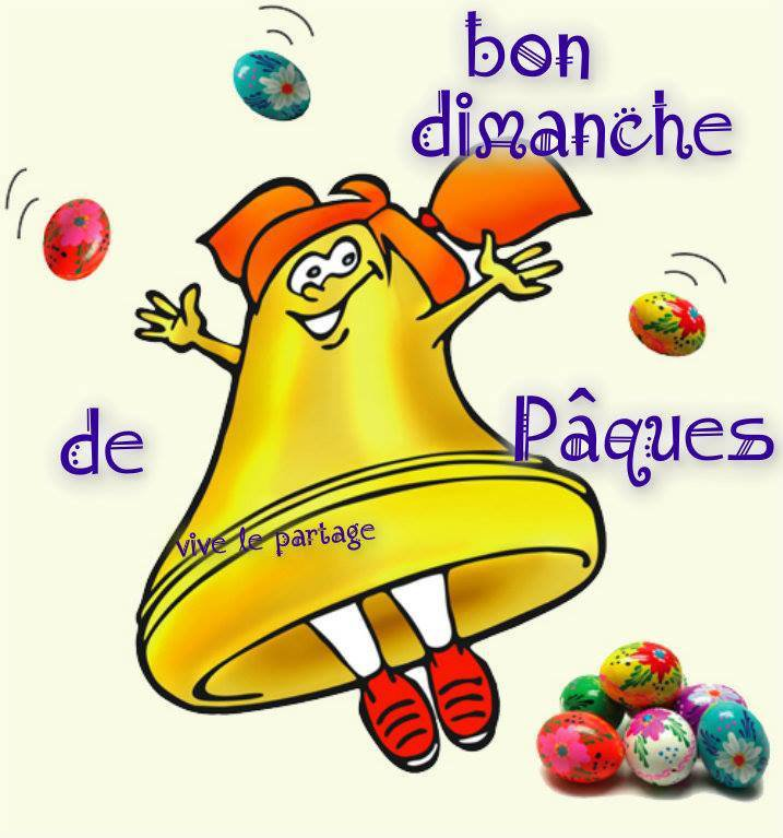 BONJOUR MES AMIS  NOUS  SOMMES   LE   DIMANCHE  01 AVRIL 2018      C ESTLE  DIMANCHE  DE   PAQUES.......