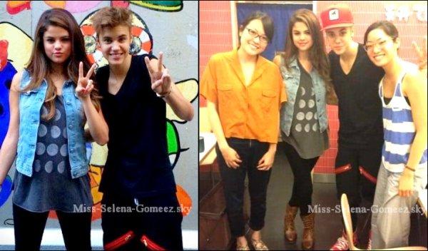 Selena & Justin au Japon ♥