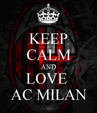 i love you ac milan for ever