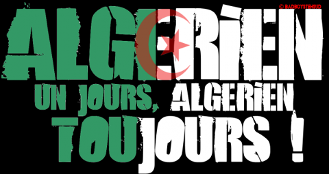 so happy because im from algeria