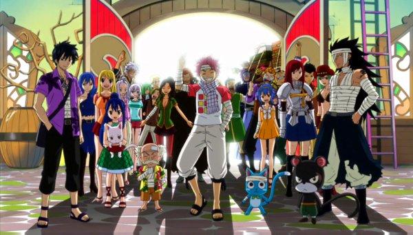 Fairy Tail Le retour! <3 <3 <3