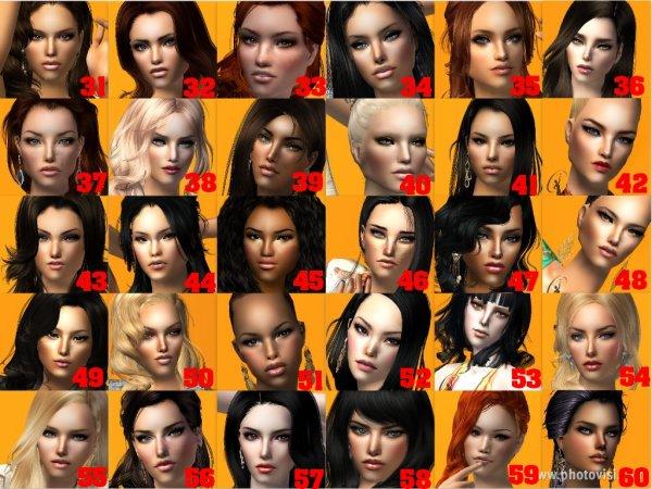 Voici les Miss Sims Univers !