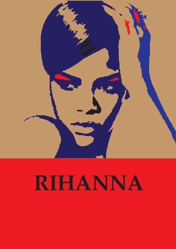 Montage Rihanna sur Adobe Photoshop CC
