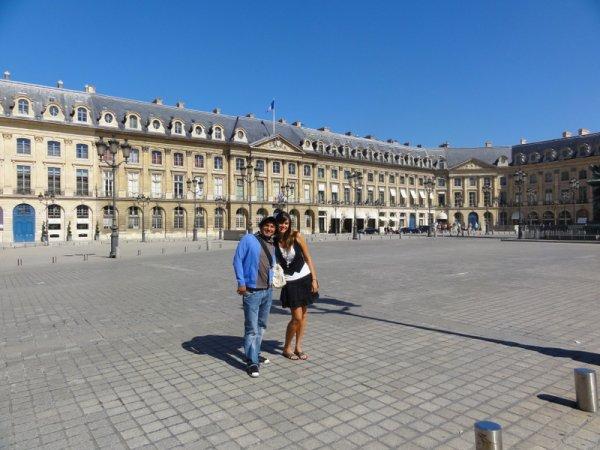 Place Vendôme avec Milton