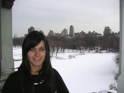 Course à pieds à Central Park...