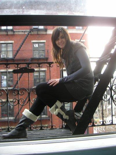 Les fameux escaliers de secours!!!!! :-)