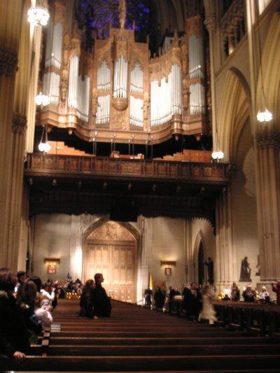 Mariage à la Cathédrale St patrick