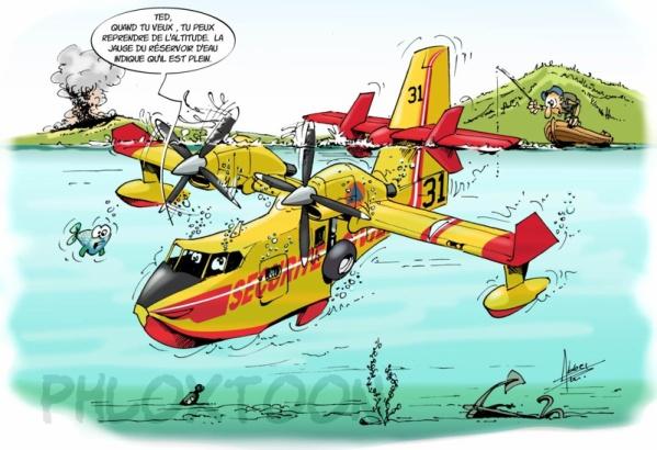 Canadair blog de icemane13 - Coloriage bombardier ...