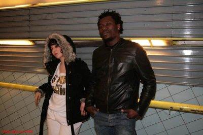 KEYDEE  avec une artiste de son label