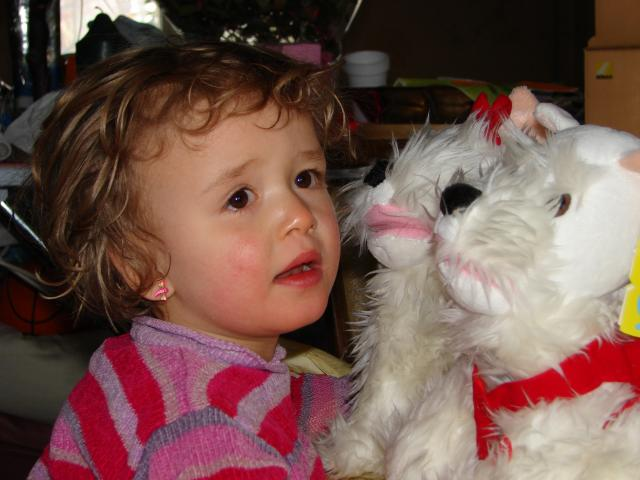 une petite fille qui se bat contre la maladie