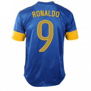 billiga Brazil Ronaldo fotbollströjor 2012-2013