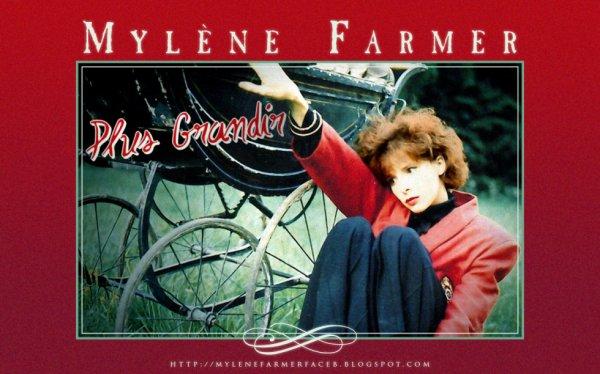 Mylene en 1985 pour plus grandir