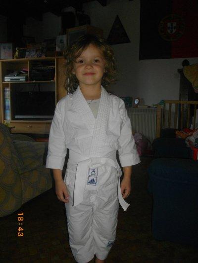 ma petite judoka