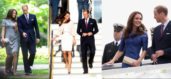 Le prince William & Kate Middleton ! Ils sont vraiment beau tous les deux ! Et puis, j'adore les looks de Kate :)