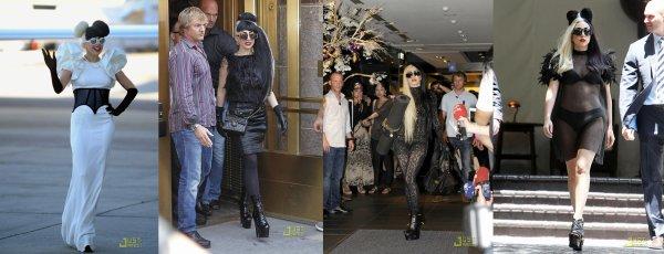 Les looks de Lady Gaga.