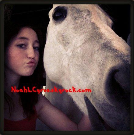 Noah et Comet, son cheval