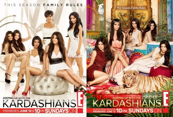 Pour la saison 6 , les Kardashians nous laisse voter pour pouvoir savoir qu'elle sera l'affiche de la nouvelle saison . La web-miss préfère la 1 et la co-webmiss la 2 :)