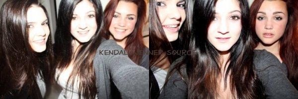 Photo de Kendall sa soeur et sa cousine + Kendall à la plage + Mason .