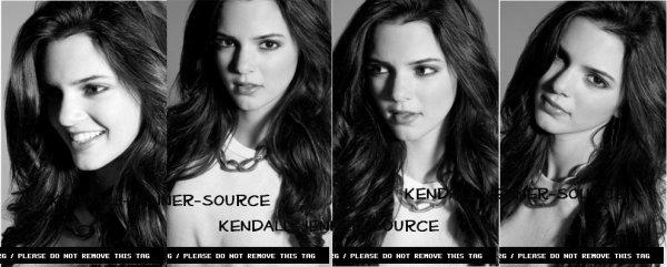 """Comme vous pouvez le voir , Kendall vient de faire sa première couverture pour le magazine de """"cherleader's"""". Elle est magnifique ."""