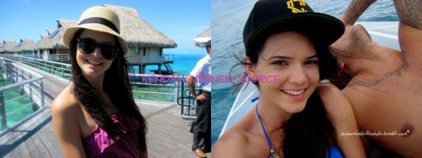 Kendall Jenner a Bora Bora la vénarde :) début