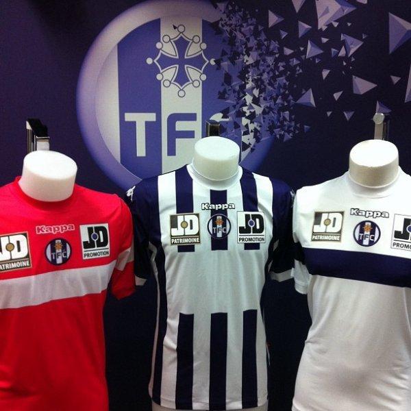 Maillots du TFC 2013-2014