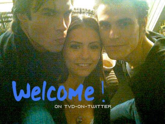 Bienvenue sur TVD-on-twitter Votre ressource de photos personnelles Du cast de The Vampire Diaries
